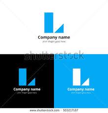 letter l isometric logo set stock vector 385810774 shutterstock
