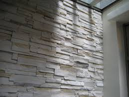 Interesting Home Decor Ideas by Decor White Faux Stone Wall For Interesting Home Decoration Ideas