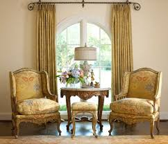bay window curtains living room victorian with drapes ring top
