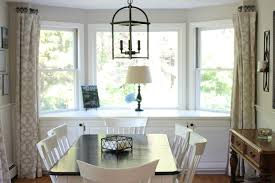Other Dining Room Bay Window Treatments Plain On Other In Best - Dining room with bay window