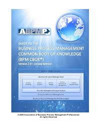 abpmp cbok v2 open business process management business process