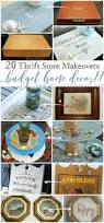 20 thrift store makeovers for your home you can do artsy