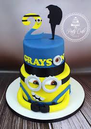 minion birthday cakes ponty carlo cakes
