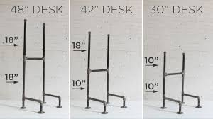 diy plumbers pipe standing desk u2013 interior design blogs