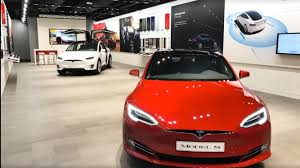tesla inside 2017 tesla will launch pop up showroom inside australia u0027s largest retailer