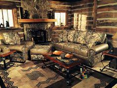 camouflage living room furniture who would love to have this in their home camo sectional from