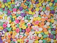 valentines day candy hearts happy s day conversation heart candy a storybook