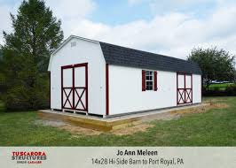 mini barns storage shed and garage prices tuscarora structures