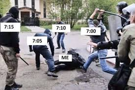 Alarm Clock Meme - alarm clock beating meme this meme is currently very hard to find