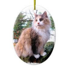 calico cat ornaments keepsake ornaments zazzle