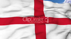 Flying Flag Flying Flag Of England Lizenzfreie Stock Videos Und Clips