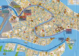 City Map Of Italy by City Map Venice Venezia U2022 Mapsof Net