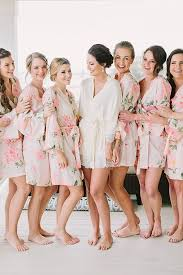 and bridesmaid robes best 25 floral bridesmaid robes ideas on bridesmaid