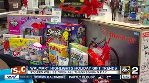 walmart highlights gift trends top gift choices and