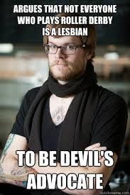 Lesbian Birthday Meme - argues that not everyone who plays roller derby is a lesbian to be