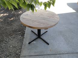 round table rohnert park country style walnut round dining table inbuilt lazy susan of also