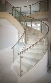 Modern Glass Stairs Design Coastal Stair Design Trends Artistic Stairs