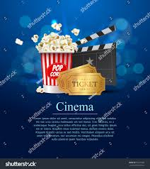 cyan cinema movie design poster design stock vector 592217036