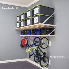garage wall shelves rhino shelf the best garage storage solution u2013 rhinoshelf com