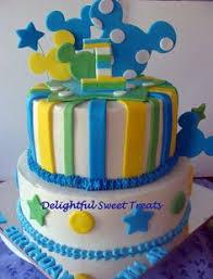 1st birthday baby mickey cake my creations pinterest baby