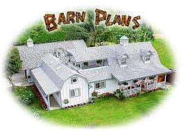 Hip Roof Barn Plans Dm Two Story Barn Shed Plans
