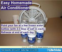 fan that uses ice to cool 39 best it s summer fan hacks and cool ideas images on