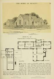 Vintage Home Plans 257 Best House Plans 1900 1930s Images On Pinterest Vintage