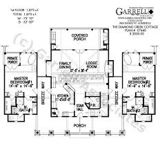 cottage house plans creek cottage house plan active house plans