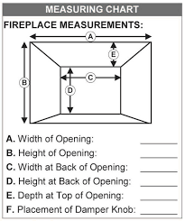 Standard Fireplace Dimensions by Heat Champion Heating Solutions Stoll Fireplace Inc