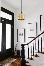 Interior Doors Painted Black by Cofounder Alaina Kaczmarski U0027s Greystone Home Tour Black Door