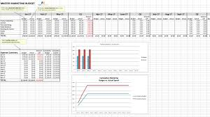 Money Budget Spreadsheet The Easiest To Use Marketing Budget Templates For Each Channel