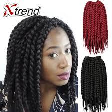 Braid Hair Extensions by Xtrend 12inch 70g Box Braids Hair Crochet Braids 12 U0027 U0027 Kanekalon