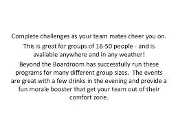 Out Of Comfort Zone Activities The Popular Challenge Team Building Activities