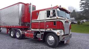 kenworth kw 1977 kenworth cabover k100 part 19 youtube