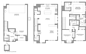 Home Plans With Elevators Townhouse Floor Plan With Elevator