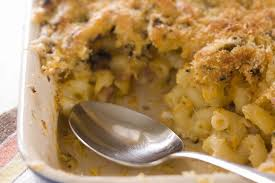 macaroni and chicken casserole recipe