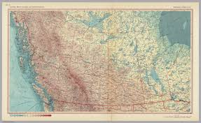 Map Of British Columbia Canada by Canada British Columbia And Prairie Provinces Pergamon World