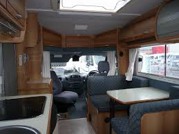 Caravan Interiors Rimor Sailor 670 Mercedes Sprinter Motor Caravan Interior