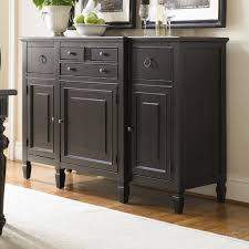 Sideboards Interesting Black Buffet Server Blackbuffetserver - Dining room buffet cabinet