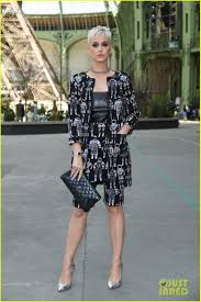 katy perry joins kristen stewart u0026 julianne moore at chanel show