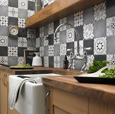 kitchen wall tile backsplash top 15 patchwork tile backsplash designs for kitchen