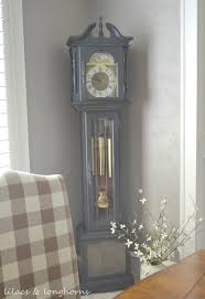 Grandmother Clock A Grandfather Clock Makeover And A Little History Lilacs And