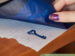 How To Make Carbon Paper At Home - how to use carbon paper for tattoos 7 steps with pictures