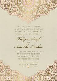 indian wedding cards chicago indian inspired invitations in pink wedding card wedding and
