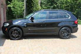Bmw X5 Black - 2007 bmw x5 with giovanna dalar wheels street dreams