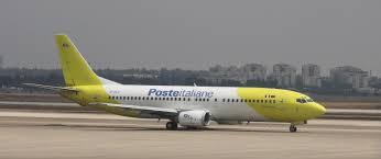 file poste italiane mistral air boeing 737 4q8 tel aviv ben
