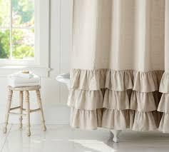 Cynthia Rowley Ruffle Shower Curtain Dkny Confetti Squares Fabric Shower Curtain Donnakaranhome White