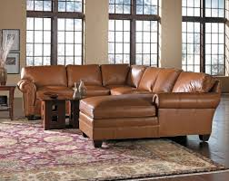 Vig Furniture Houston by Furniture Home Midcentury Style Light Brown Leather Sofa