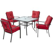 Patio Table Legs Replacement Parts by Furniture Patio Dining Sets Walmart Mainstay Patio Furniture