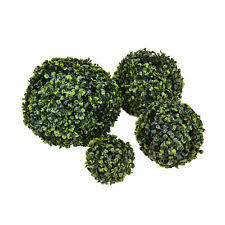 outdoor topiary floral decor ebay
